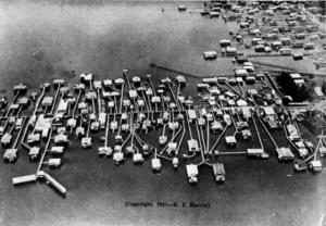 Milneburg, Lake Pontchartrain's port facility and day-trip resort