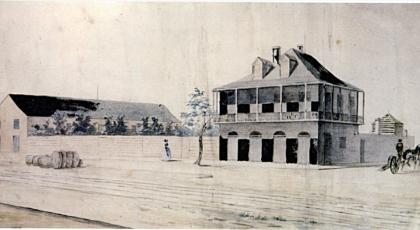 elysian fields house 1842