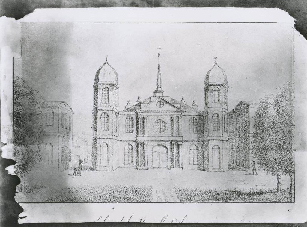 St. Louis Cathedral 1819