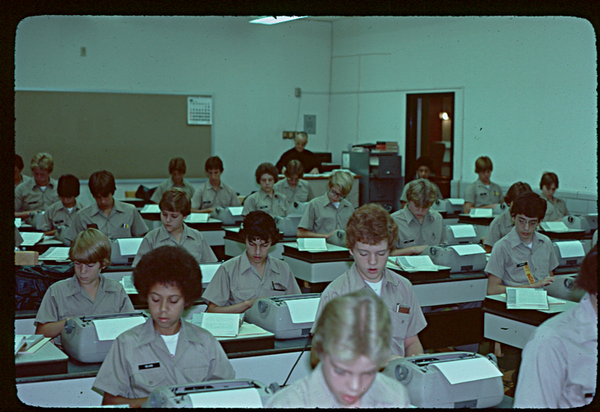Typing Class, 1979
