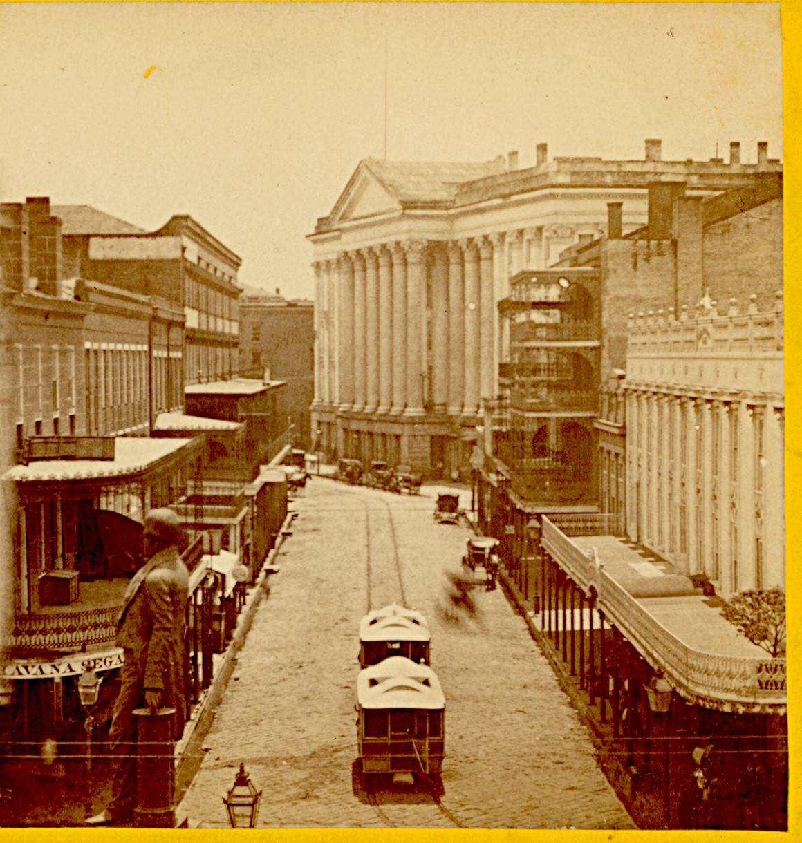 """Streetcar Monday: the St. Charles Hotel and """"bobtails"""""""