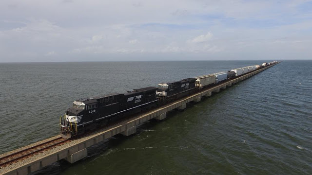 Norfolk Southern Lake Pontchartrain Bridge