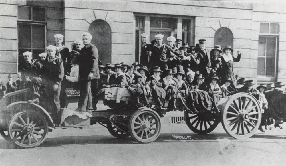 Canal Street 1918 – Armistice Day – November 11, 1918