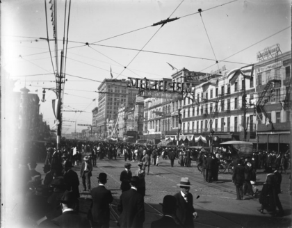 canal street 1918