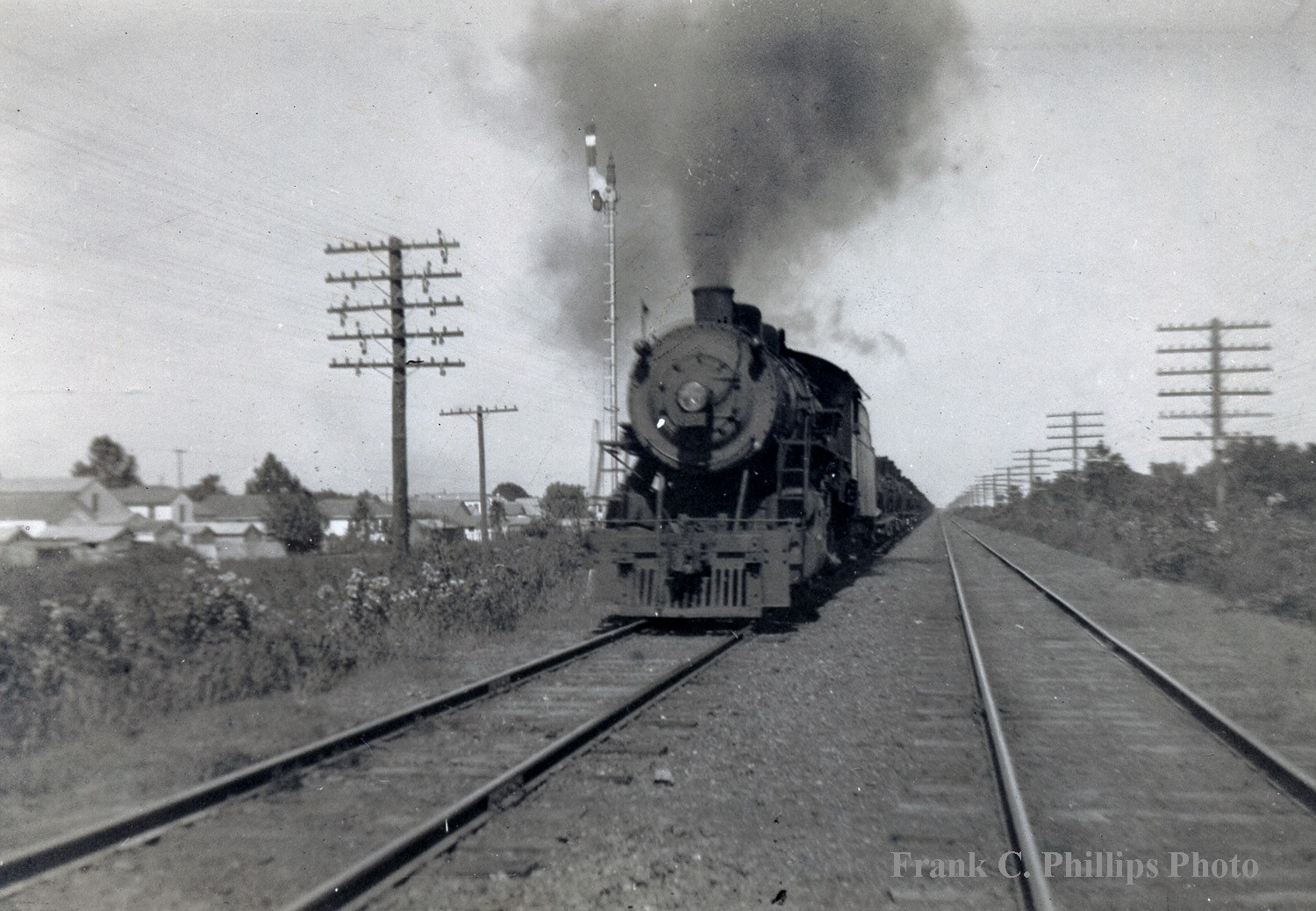 2-8-0 Steam Locomotives in Gentilly #TrainThursday