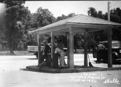 Bus Stop Iroquois Street Gentilly