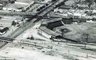 Streetcars Canals Baseball #StreetcarMonday in Mid-City