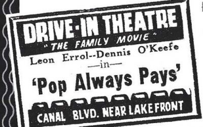 Lakefront Drive-In Theater 1940