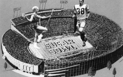 Sugar Bowl New Orleans 1969 in local advertising