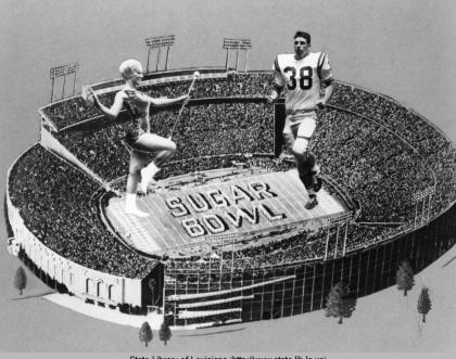 Sugar Bowl New Orleans 1969