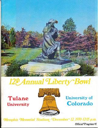 liberty bowl 1970