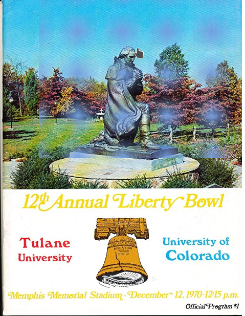 Liberty Bowl 1970 was Tulane's fourth bowl appearance