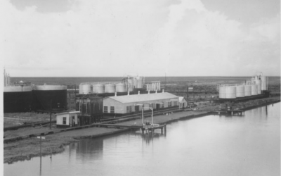Texas Company Warehouse 1937