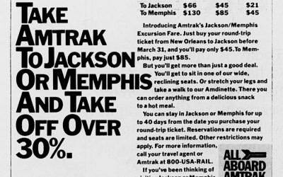 Amtrak Northbound Advertisement 1984 #TrainThursday