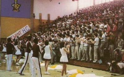 BMHS Pep Rally 1982 #BOSHSunday