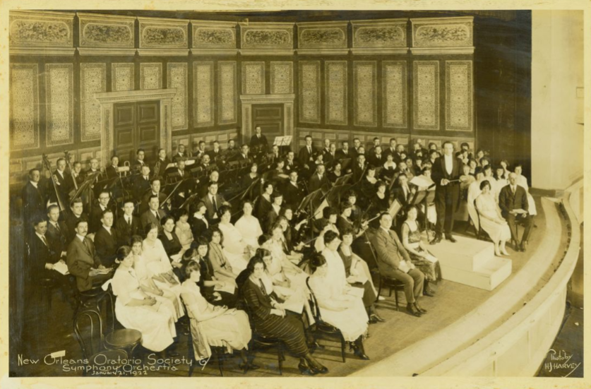 New Orleans Oratorio Society 1922