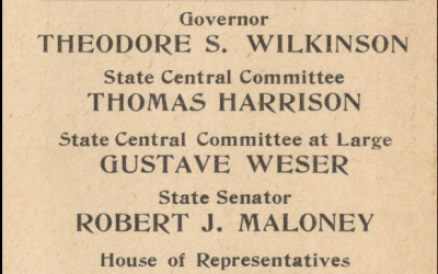 NOLA Politics – Anti-Ewing Ticket 1908