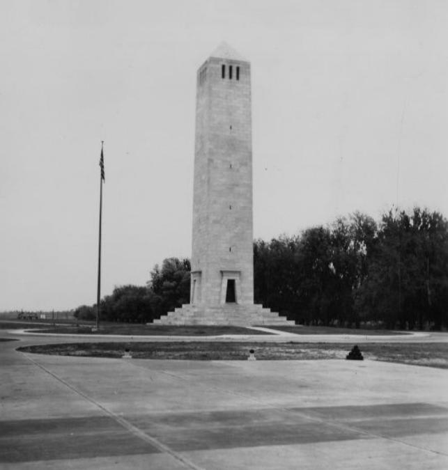 Chalmette Monument 1930s #battleofneworleans
