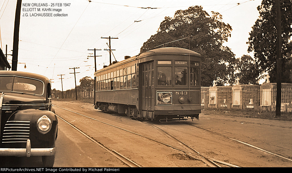 Canal Line layover 1947 #StreetcarSaturday