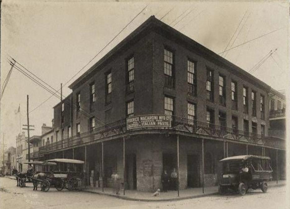 Federico Macaroni Manufacturing 1917