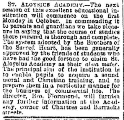 st. aloysius academy