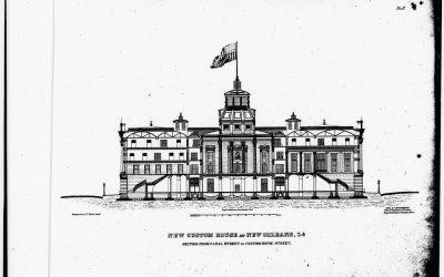 Custom House preliminary design 1851