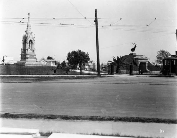 greenwood cemetery 1930s