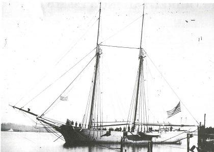us navy mortar schooners