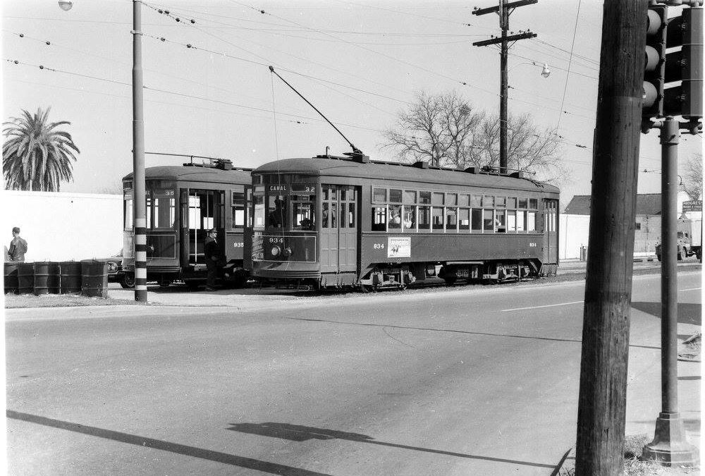 Canal Line Arch Roofs 1960 #StreetcarSaturday