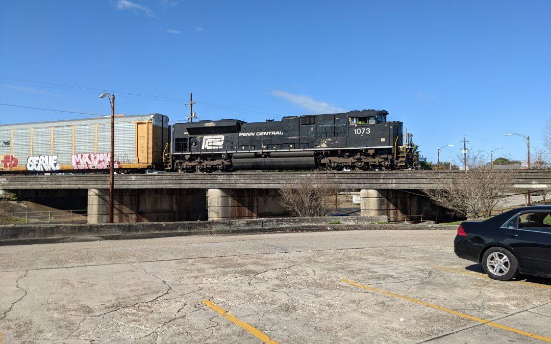 Penn Central Heritage 1073 @nscorp #trainthursday
