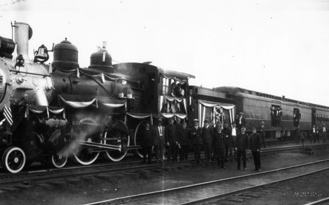 Knights Templar Train 1924 #TrainThursday