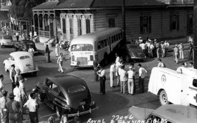 Bus accident 1950