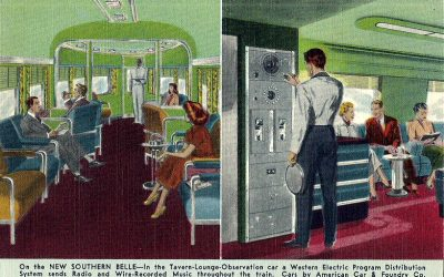 Southern Belle Observation Car #TrainThursday