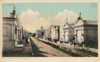 Metairie Cemetery 1905ish