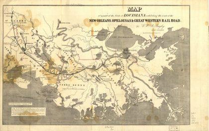 westbound railroads