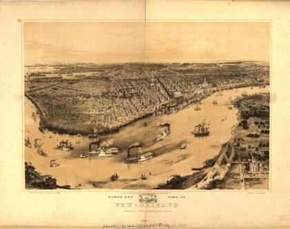 birds-eye view 1851