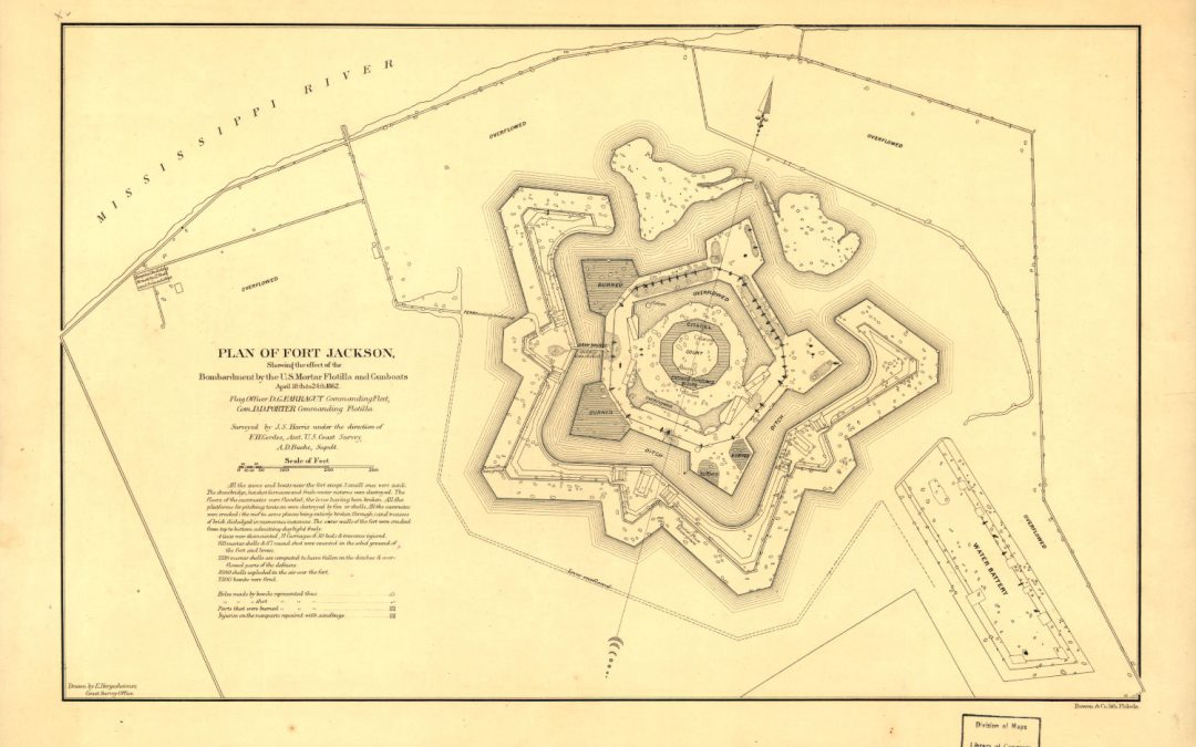Fort Jackson Bombardment 1862