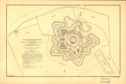 fort jackson bombardment