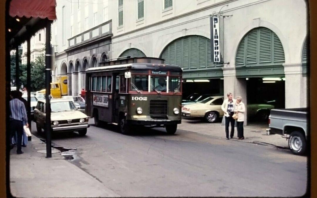 French Quarter Mini-bus #StreetcarSaturday