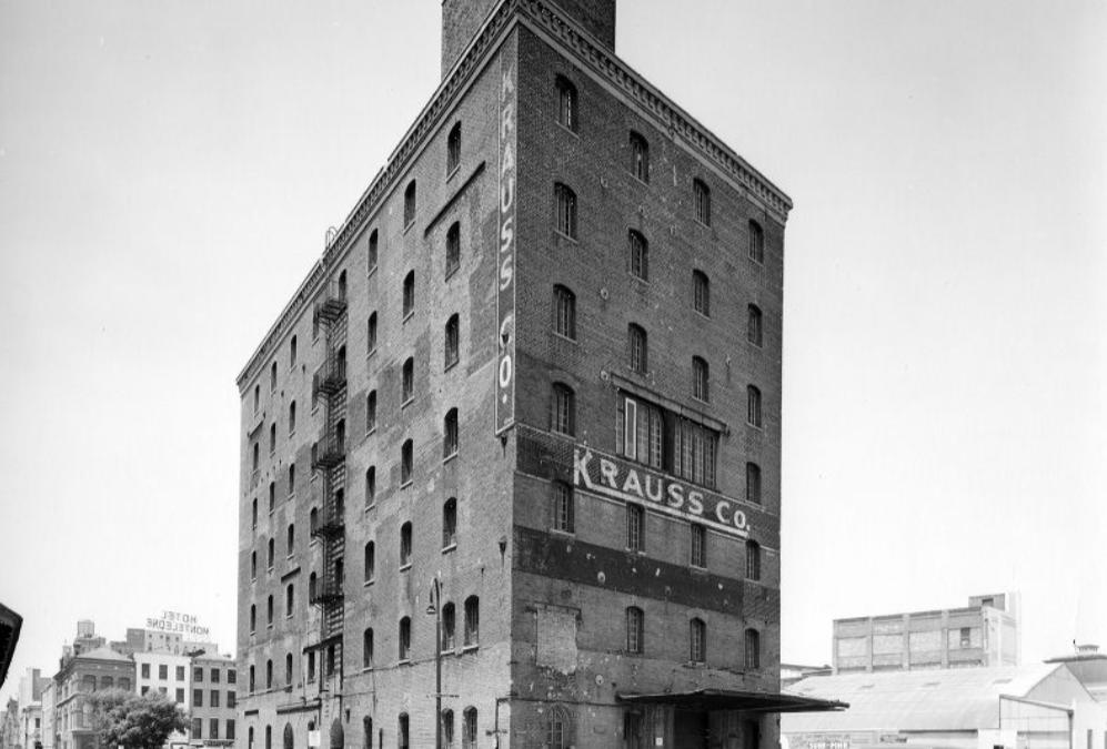 Krauss Warehouse Building #KraussFriday