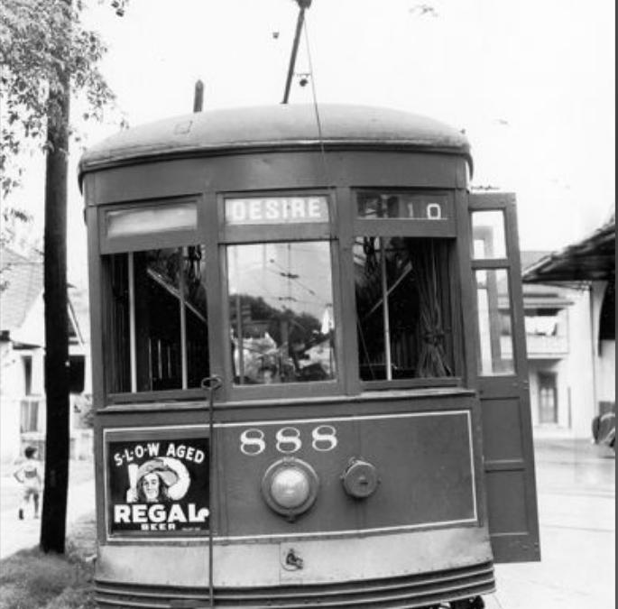 Wrecked Streetcar – NOPSI 888 #StreetcarSaturday