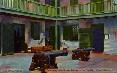 Cabildo Courtyard 1940