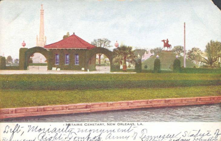 Metairie Cemetery Main Entrance 1900
