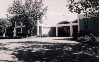 Main Entrance, Brother Martin High, 1971