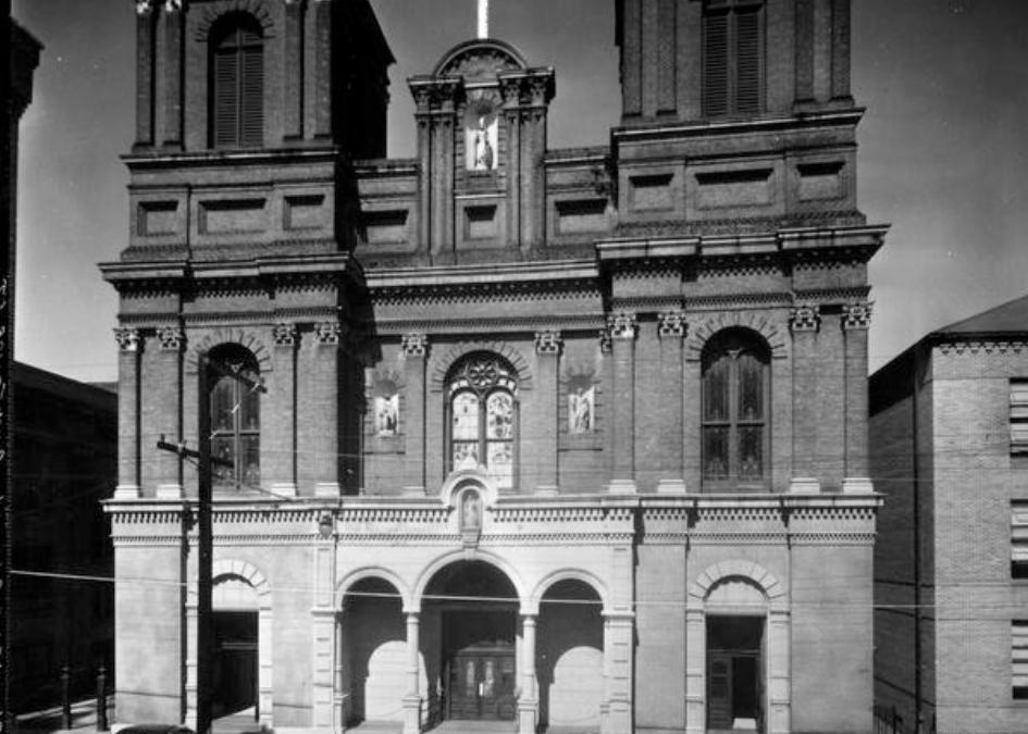 St. Alphonsus Church 1950s