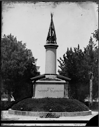 first chalmette monument