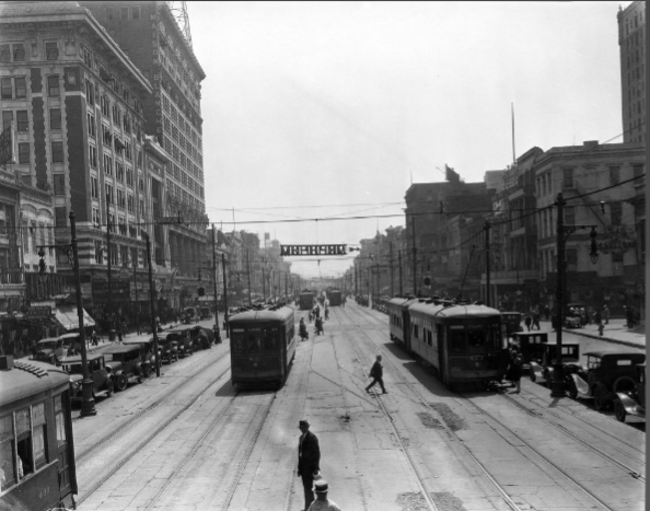 Looking Down Canal, 1926