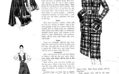 Shop Talk 1970 – New Looks #MBMonday