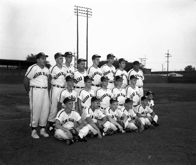 NORD Baseball Maison Blanche 1956