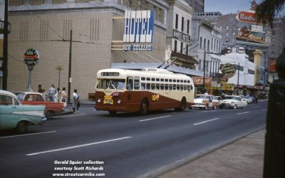 Tulane Trackless Trolley 1963